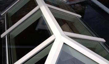 Glazen dak in Driebergen