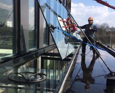 Glasluifel Amstelkwartier Hotel